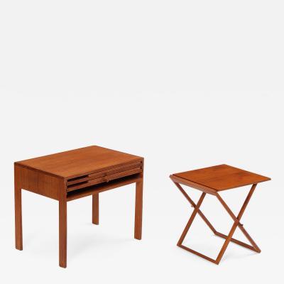 Illum Wikkels ILLUM WIKKELSO TABLE WITH FOLDING TABLES