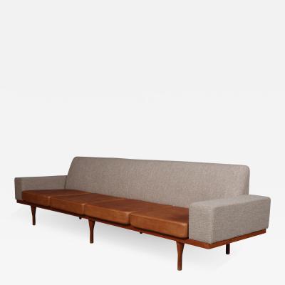 Illum Wikkels Illum Wikkels Four pers sofa model 50 4 teak