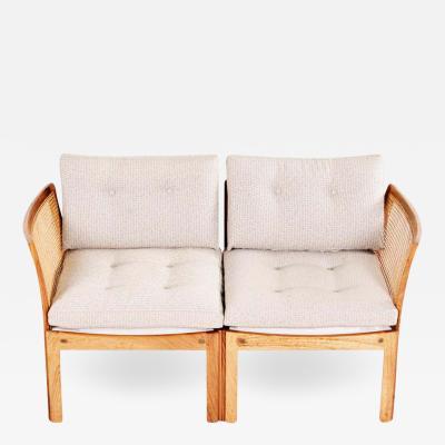 Illum Wikkels Midcentury Danish Rosewood Sofa Plexus Model by Illum Wikkelso to CFC Silkeborg