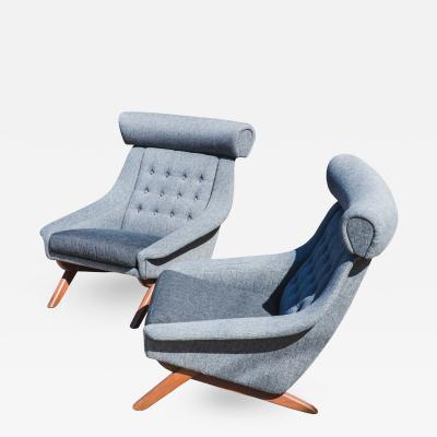 Illum Wikkels Pair of Illum Wikkels Lounge Chairs