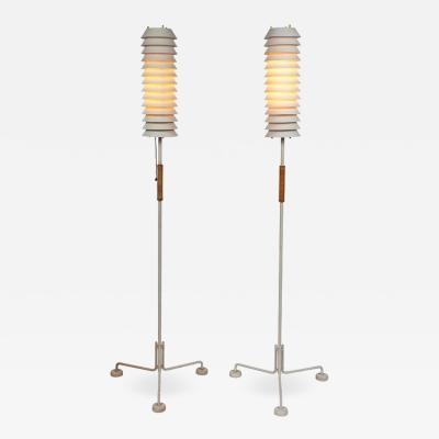 Ilmari Tapiovaara 1950s Ilmari Tapiovaara Maija Tripod Floor Lamps for Asko Hienoter