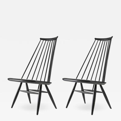 Ilmari Tapiovaara Pair of Mademoiselle Lounge Chairs by Ilmari Tapiovaara for Asko