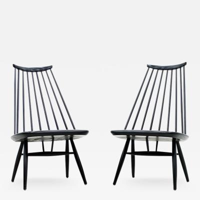 Ilmari Tapiovaara Pair of Mademoiselle Lounge Chairs by Ilmari Tapiovaara for Asko Finland 1956