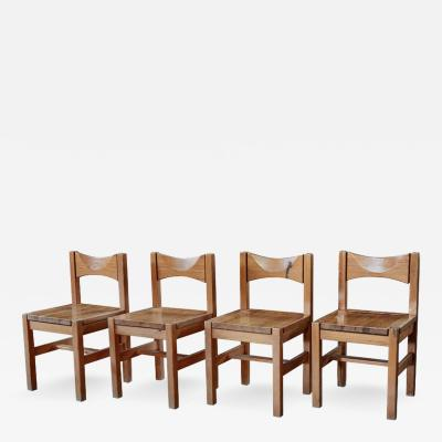 Ilmari Tapiovaara Set of Four 1960s Ilmari Tapiovaara Dining Chairs for Laukaan Puu Oy Finland