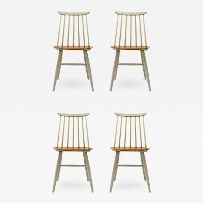 Ilmari Tapiovaara Set of Four Ilmari Tapiovaara Dining Chairs