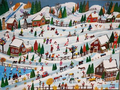Ilona Fekete Country Winter