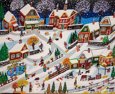 Ilona Fekete Snow Day