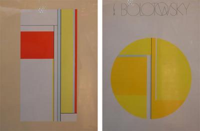 Ilya Bolotowsky Set of Two Ilya Bolotowsky Serigraphs