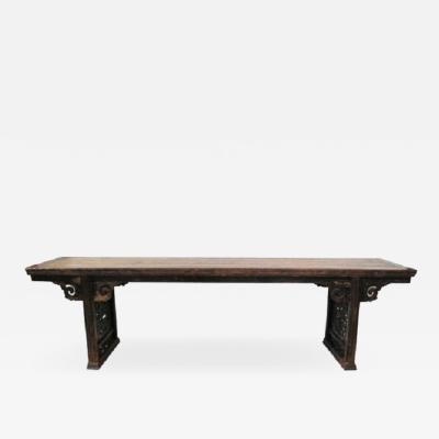 Important 19th century Chinese altar table