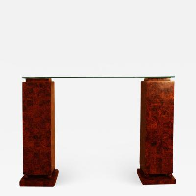 Important Art Deco Style Console From Cartier 1970
