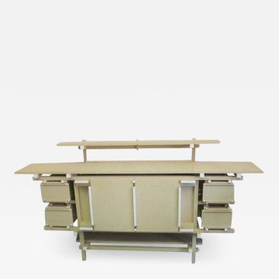 Important Unique Rietveld Lego Sideboard by Minale Maeda for Droog Design