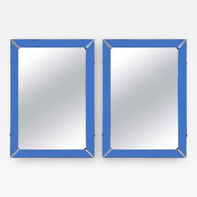 Pair art Deco picture frames
