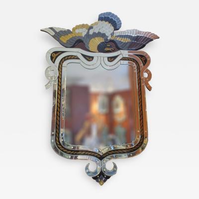 Incredible Venetian Mirror by Fratelli Barbini