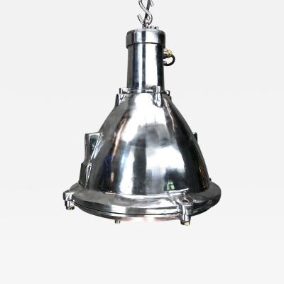 Industrial Cast Aluminum Marine Ceiling Light by Baliga