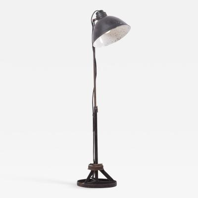 Industrial Height Adjustable Floor Lamp Bauhaus
