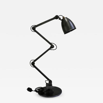 Industrial Table Lamp by E D L UK 1950s
