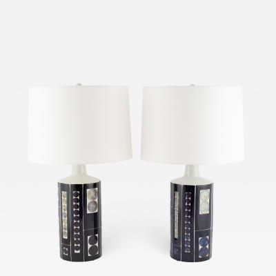 Inge Lise Koefoed Large table lamps by Inge Lise Koefoed for Fog M rup circa 1960s