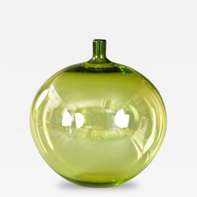 Ingeborg Lundin A Swedish Glass Apple Vase