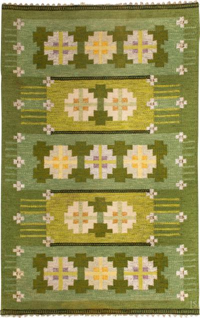 Ingegerd Silow Carpet Produced in Sweden