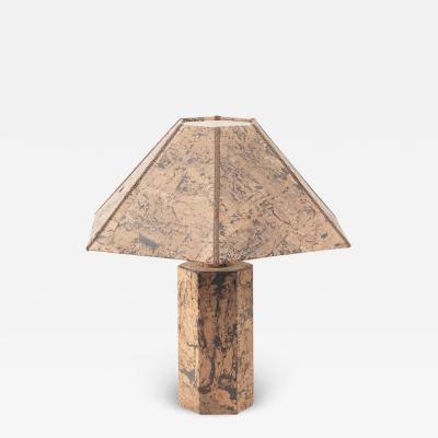 Ingo Mauer style cork lamp Unknown c1974