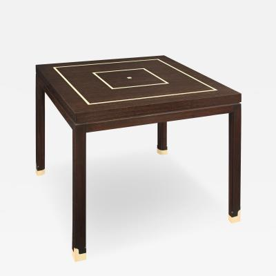 Inlaid Side Table by Tommi Parzinger