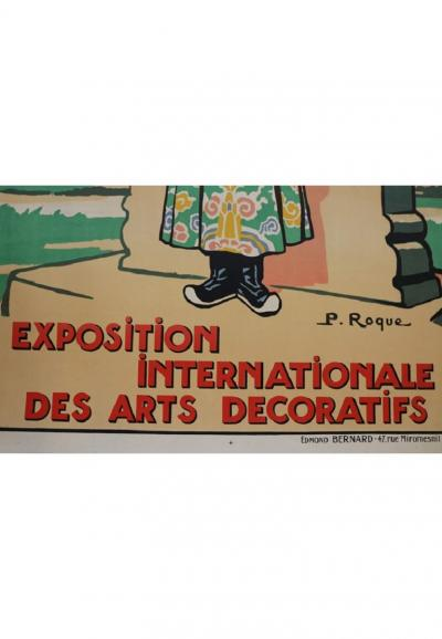 International Exhibition of Decorative Arts by P Roque