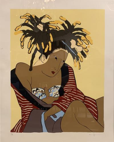 Iona Rozeal Brown Untitled I female 2003