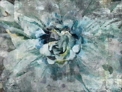 Irena Orlov Delightful Blue Mixed Media 60 x 40