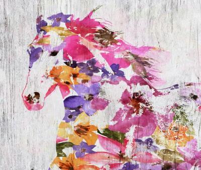 Irena Orlov Floral Farm Horse