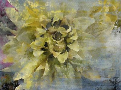 Irena Orlov Joyfull Green Flower