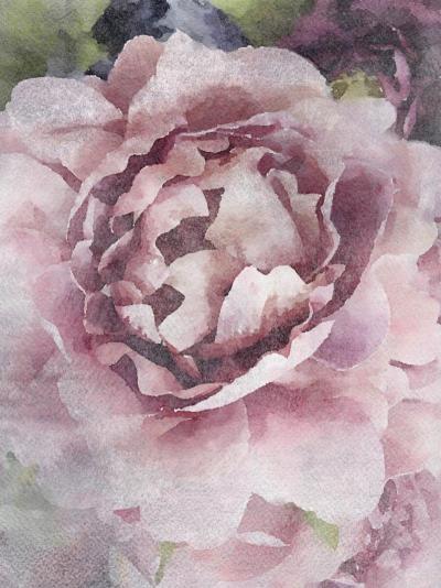 Irena Orlov Rustic Peony Mixed Media on Canvas 60 x 40