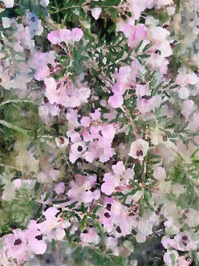 Irena Orlov Spring Mist Mixed Media 60 x 40