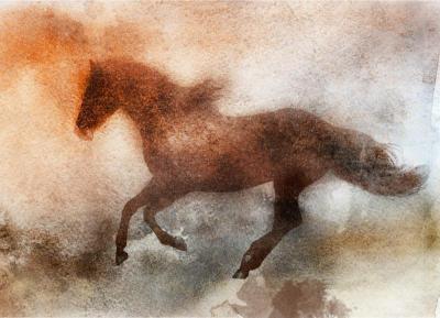 Irena Orlov Wind Blown Horse