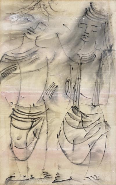 Irene Rice Pereira Mod Figures