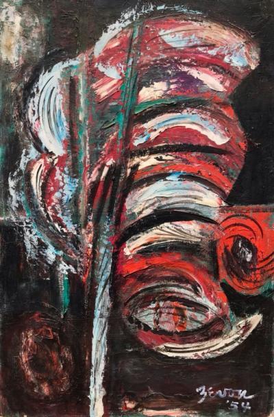 Irene Zevon Abstract 1954