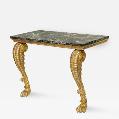 Irish Regency Giltwood Pier Table