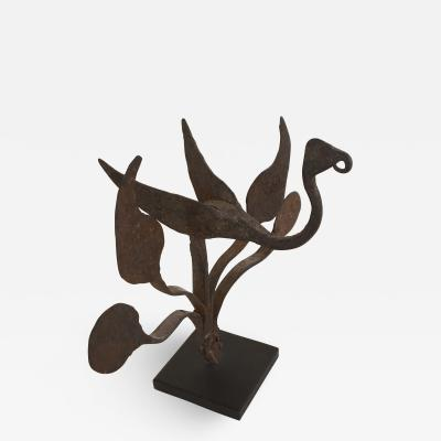 Iron Bird Motif Sculptural Element Yoruba Tribe Nigeria 20th Century