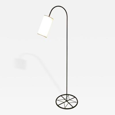 Iron Floor Lamp with Shade