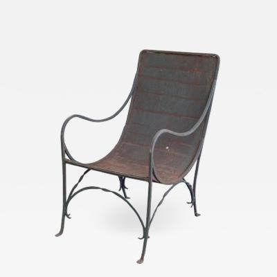 Iron Salterini Style Lounge Chair