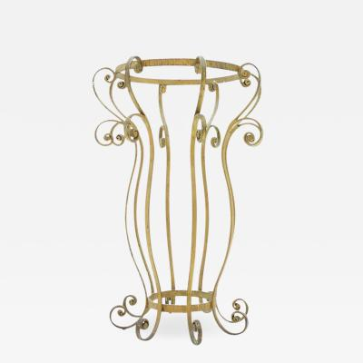 Iron Umbrella Stand in Style of Pier Luigi Colli Italy 1960s