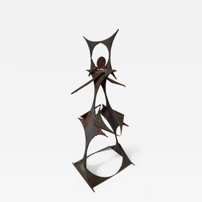 Iron sculpture found in Pennsylvania
