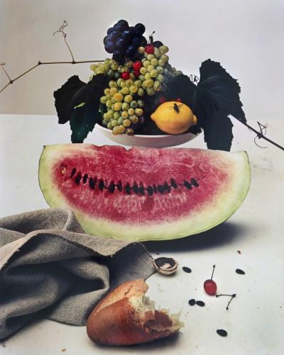 Irving Penn Still life with Watermelon NY