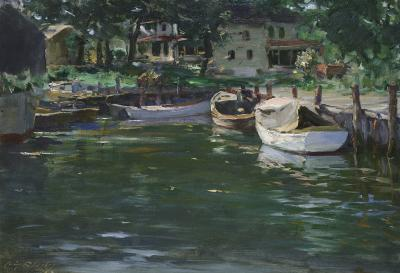 Irving Ramsey Wiles Sterling Basin Greenport New York