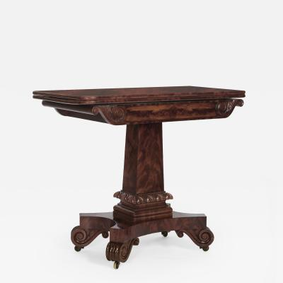Isaac Vose A Classical Games Table