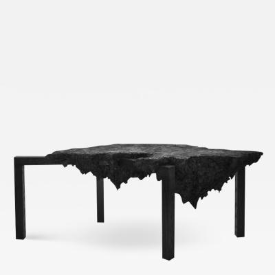 Isac Elam Kaid Pulp Coffee Table Sustainable Sculptural Design by Isac Elam Kaid