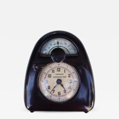 Isamu Noguchi Mid Century Isamu Noguchi Hawkeye Measured Time Clock and Timer