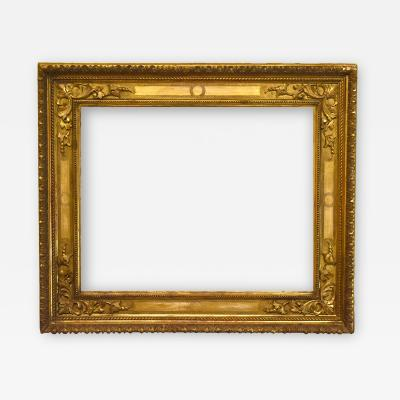 Italian 18th Century Carved Gilded Cassetta Picture Frame 20x25