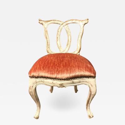 Italian 18th Century Slipper Chair
