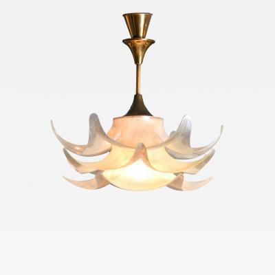 Italian 1950s pergola pendant