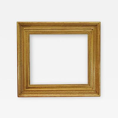 Italian 19th Century Carved Gilded Picture Frame 32x37